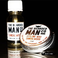 Test: huile pour barbe et moustache wax The Bearded Man Company